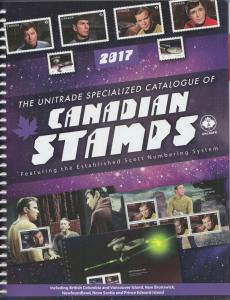 2017 Unitrade Canada Specialized Catalog, includes Colonial issues, gently useed