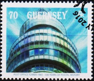 Guernsey. 2016 70p Fine Used