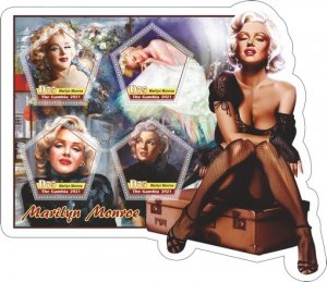 Stamps. Marlyn Monroe Set 2 sheet perforated