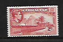 GIBRALTAR, 110B, MINT HINGED, THE ROCK NORTHSIDE