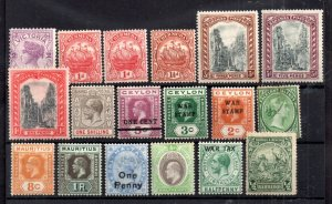 British Commonwealth QV-KGV mint collection WS15006