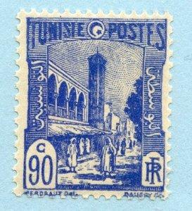 Tunisia, Scott #96, Unused, Hinged