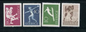 Sweden #444-7 Mint