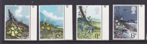 GB 1979 Flower Sc 855-858 MNH OurRef.#z0018