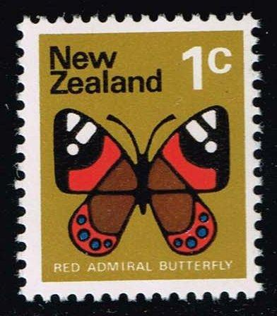 New Zealand #439 Red Admiral Butterfly; MNH (0.25)
