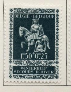 Belgium 1942-43 Early Issue Fine Mint Hinged 1.50F. 174120