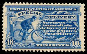 momen: US Stamps #E6 Mint OG NH VF/XF Weiss Cert