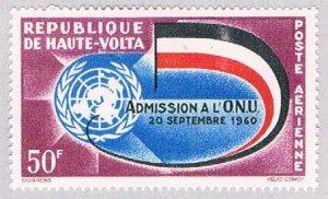 Burkina Faso C5 MLH Flag and emblem 1962 (BP50015)