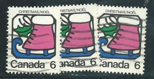 Can #625    (3)   used   VF 1973 PD