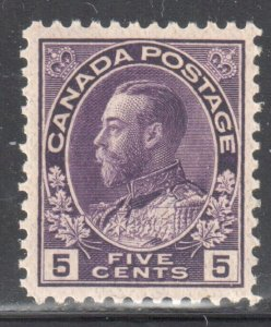 Canada #112a Mint XF NH -- C$150.00 -- Perfect Centering