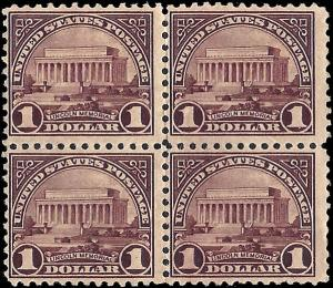 571 Mint,NG.. Block of 4... SCV $140.00