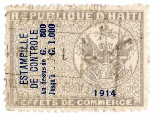 (I.B) Haiti Revenue : Commercial Duty 800c