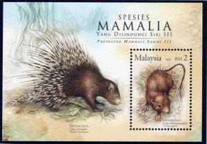 Malaysia Scott 1045  MNH** Souvenir Sheet