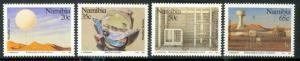 NAMIBIA 1991 Weather Service Centenary Set Sc 690-693 MNH
