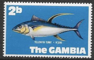 Gambia Scott #253 Mint MNH Fish stamp for your collection