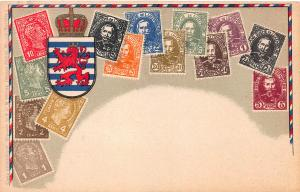Luxembourg, Early Stamp Postcard, Published by Ottmar Zieher, Unused