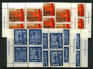 Canada USC #629-633 Mint 1979 Keep Fit Summer Sports & Winnipeg Centennial NH