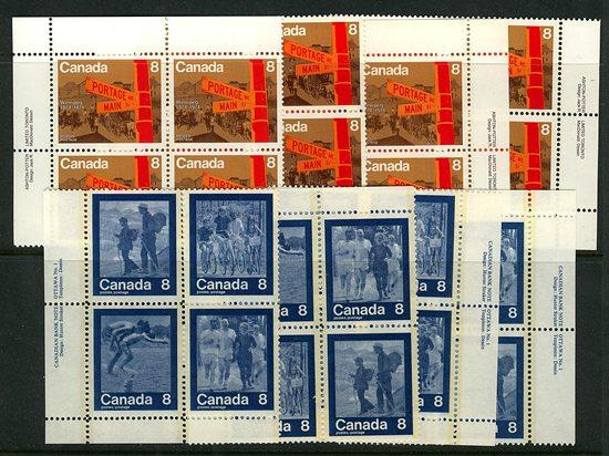 Canada USC #629-633 Mint 1979 Keep Fit Summer Sports & Winnipeg Centennial NH
