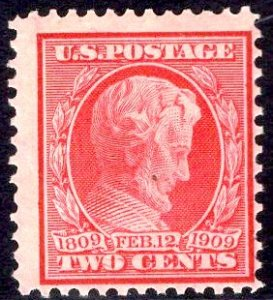 US Stamp #367 2c Lincoln Mint NH SCV $9.50