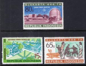 Indonesia 800-802 MNH VF