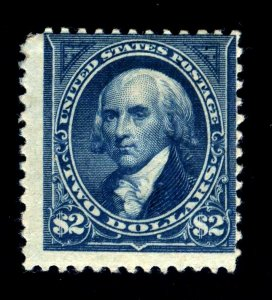 PF CERT - #262 $2 Madison....F+ og HR -- cv$2750  -- FREE SHIPPING!