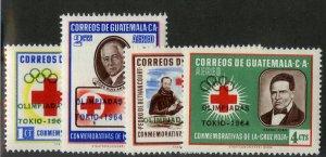 GUATEMALA C283-6 MH SCV $5.00 BIN $2.25