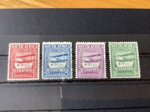 South Africa 1925 Air mounted mint stamps  Ref 57132