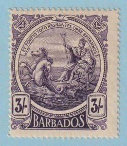 BARBADOS 138  MINT HINGED OG * NO FAULTS VERY FINE !