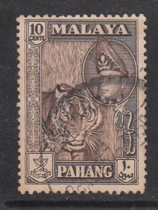 Malaya Pahang 1957 Sc 77 10c Used