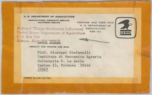 59881 -  USA - POSTAL HISTORY: AGRICOLTURE DEPARTMENT special postmark OFFICIAL