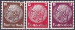 Germany #405-7  F-VF Unused CV $11.25 (Z2573)