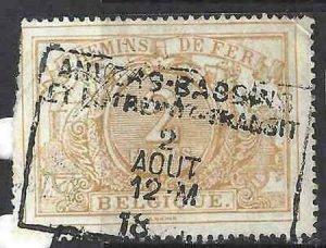 Belgium 1894 SC Q15 Used SCV$ 68.00