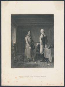 WASHINGTON & HARVEY BIRCH VIGNETTE ESSAY LITHOGRAPH BR6430