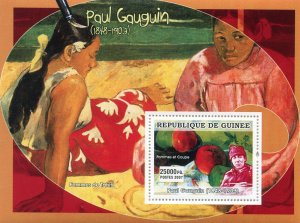Guinea 2007 PAUL GAUGUIN Paintings s/s Perforated Mint (NH)