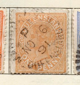 Queensland 1882-95 Early Issue Fine Used 1d. NW-113693
