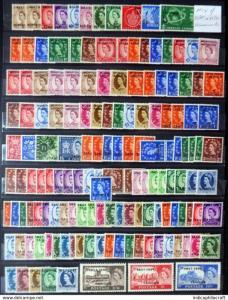 GB Various QE2 OPT's Mint, morocco,tangier Mounted & U/M huge lot v.hcv