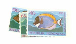 Indonesia Scott 859-861 NH    [ID#428332]
