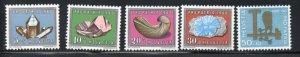 Switzerland Sc B292-96 1960 Pro Patria Minerals stamp set mint NH