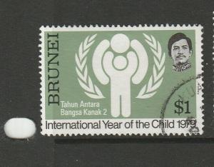 Brunei 1979 Year of the Child $1 FU SG 278
