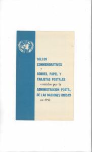 United Nations 1952 Publicity Folder
