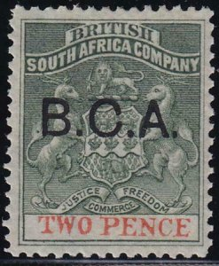 British Central Africa 1891-1895 SC 2 MLH