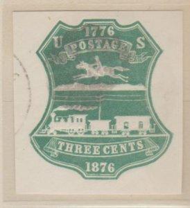U.S. Scott #U221 Pony Express - Embossed Stamped Envelope - Used Set of 2