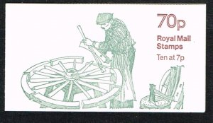 Great Britain Booklet SG FD5A