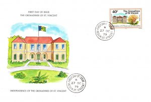 Saint Vincent, Worldwide First Day Cover