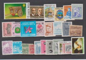 COSTA RICA STAMPS (25)  LOT#155