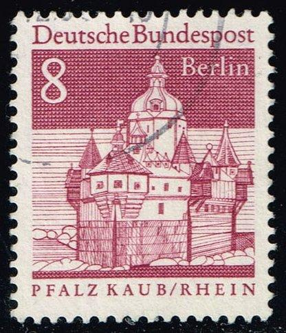 Germany #9N236 Kaub on the Rhine Castle; Used (0.25)