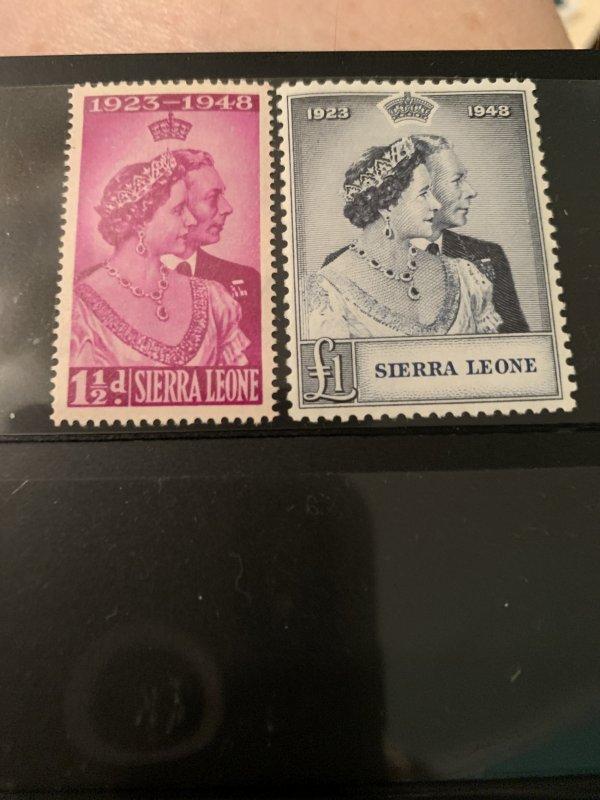 Sierra Leone 188-9 LH