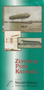 Sieger Zeppelin Post Catalog, 22nd Edition, NEW.