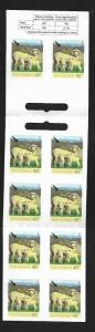 NEW ZEALAND, 1996A, MNH, BOOKLET OF SHEEP