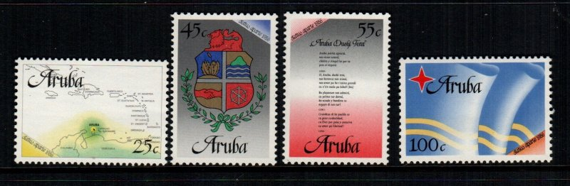 Aruba  18 - 21   MNH cat $ 7.50